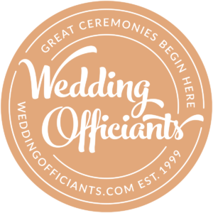 WeddingOfficiants.com Badge